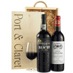 Port and Claret Wine Gift